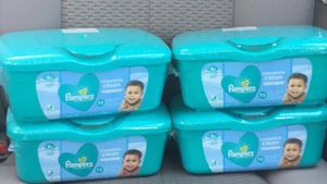 Pampers wipes 72 ct for Sale in Spring, TX