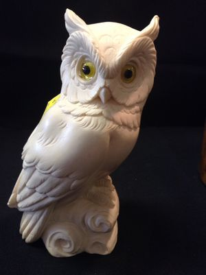 Carved owl figure for Sale in Portland, OR