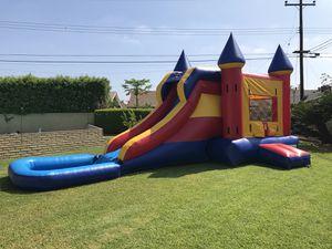 Water Slide Combo With Basketball Hoop for Sale in Norwalk, CA