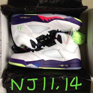 Nike Air Jordan 5 V Retro Alternate Bel Air Basketball Shoes Size Sz Men's 11 14 DB3335-100 ⭐️ NEW Deadstock DS Receipt for Sale in Evesham Township, NJ