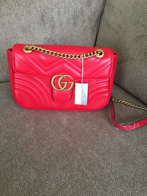 Red Luxury shoulder purse for ladies! Nice for Sale in Bowie, MD