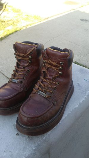 Eagle steel toe work boots for Sale in Los Angeles, CA