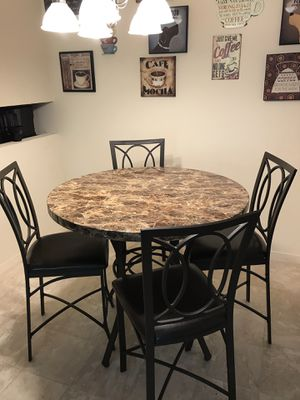 Bistro-Style Table and 4 Chairs! for Sale in Charleston, WV