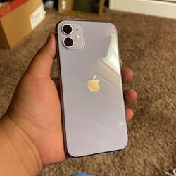 iPhone 11 (Boost Mobile) 64GB In Color Purple for Sale in Saint Paul,  OR