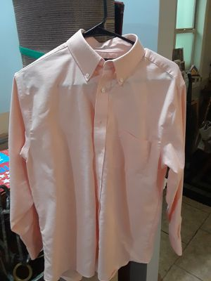 Men's l/s Stafford Oxford/peach for Sale in Tuscaloosa, AL