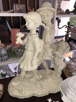 Children and Dog Statue for Sale in Colonial Heights, VA