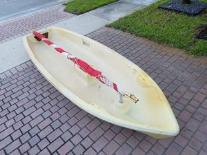 Sailboat. Sailboat hull and sail. Sunflower boat. Easy and fun sailing. $175 for Sale in Miramar, FL