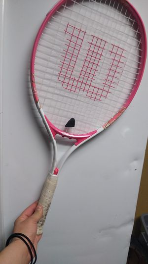 Serena and venues Wilson tennis racket for Sale in Stockton, CA