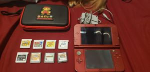 New Nintendo 3DS XL + games, case, and charger for Sale in Seattle, WA