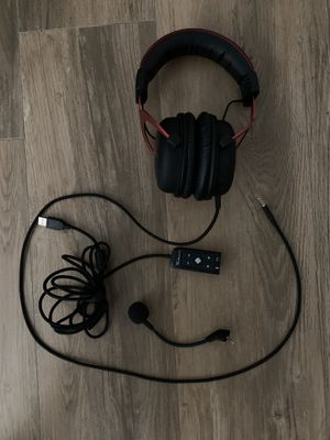 (NEED GONE NOW) Hyper X Cloud Gaming Headphones/Headset for Sale in Palmetto Bay, FL