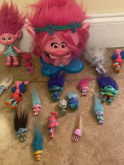 A Bundle Of Trolls Toys for Sale in Miami,  FL