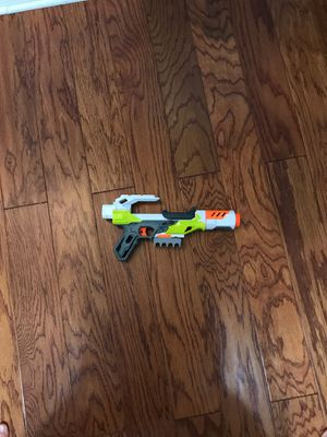 TOY Sneaky Nerf modulus blaster with dart storage and silencer for Sale in Sarasota, FL