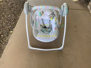 Bright stars baby swing works good for Sale in Peoria, AZ