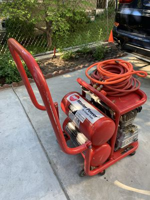 MASTER POWER Twin Stack Air Compressor for Sale in Quincy, MA
