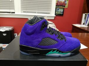 Nike Air Jordan 5 grape 10.5 men's delivery available for Sale in Norco, CA