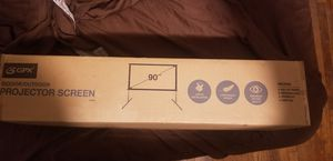 GPX mini projector with bluetooth with projector screen for Sale in Amity Harbor, NY