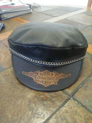 Harley Davidson XL Leather Cap for Sale in Orlando, FL