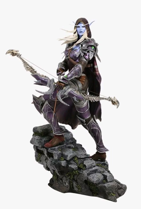 Blizzard Sylvanas Windrunner Polystone Statue Collectible not Sideshow