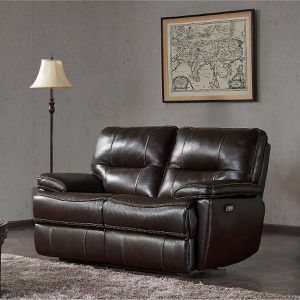 New Tomlin Leather Power Reclining Loveseat Couch for Sale in Loganville, GA