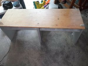 Long low kids table /desk for Sale in Seattle, WA