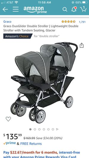 Graco DuoGlider Double Stroller for Sale in San Diego, CA