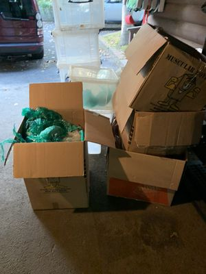 Free packing material for boxes for Sale in Medford, NJ