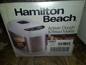New Hamilton Beach Artisan Bread Maker for Sale in Marshall, VA
