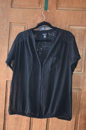 Torrid Georgette Black blouse 0 for Sale in City of Industry, CA