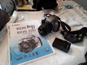 Canon EOS Rebel XT 350D for Sale in Bloomington, IL