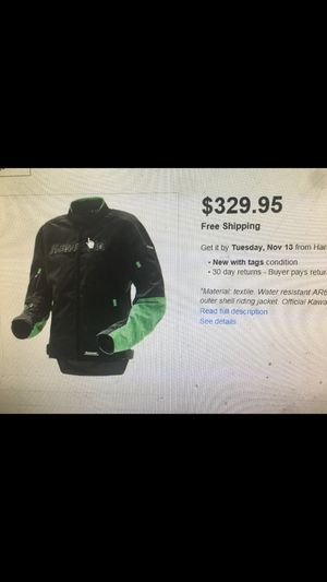 Motorcycle Bikers jacket Kawasaki for Sale in Chicago, IL