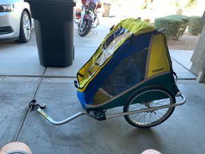 Trek two seater bike trailer for Sale in North Las Vegas, NV