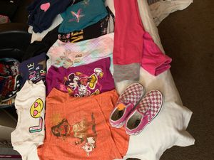 I have clothes for a little girls and boys 4t 5t . I also have lots of shoes brand new shoes for Sale in Corona, CA