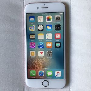 Apple IPhone 6S 16GB Factory ICloud Unlocked can be used Internationally Like New for Sale in Annandale, VA