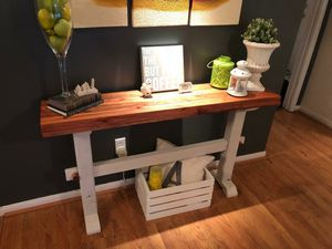 Rustic console or entry table for Sale in Spring, TX
