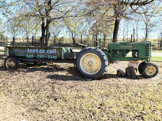 John Deere tractor and trailer for Sale in Mansfield,  TX