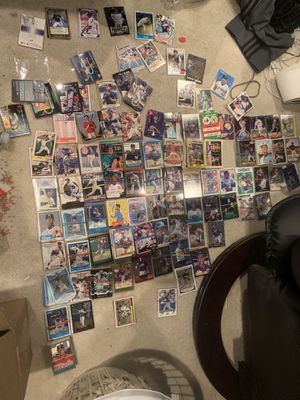 Baseball cards old and new and complete Topps set for Sale in Tinley Park, IL