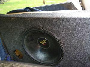 Speaker amp and radio for Sale in Nashville, TN