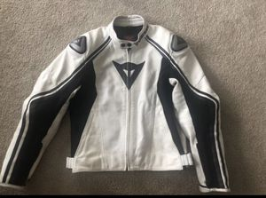 Dainese Motorcycle leather jacket small size 46 for Sale in San Jose, CA