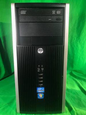 Fast HP 6200 Windows 10 Pro Desktop PC Computer Tower Core i3 4GB 1TB for Sale in Ontario, CA