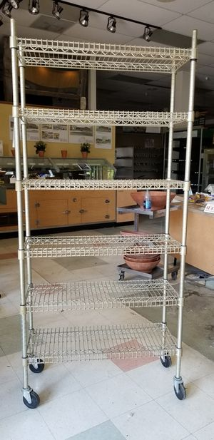 Metro shelving 3ft x 1 ft H 75 for Sale in Solvang, CA