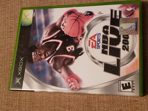 NBA LIVE 2002 - XBOX Game includes the instruction manual for Sale in Chambersburg, PA