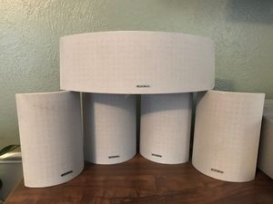 Onkyo Surround Sound Speaker Set SKM-330S/SKC-330C/SKF-330F for Sale in Edmond, OK