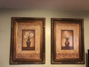 Two Beautiful art frame for Sale in Lake Worth, FL