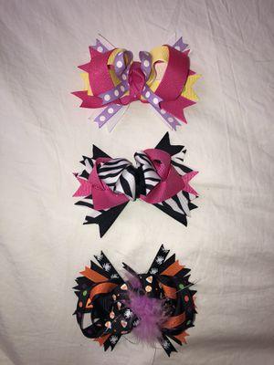 Girls Hair Bows Set of 3 NEW! for Sale in Charlottesville, VA