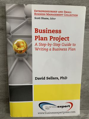 Business Plan Project Book for Sale in Selma, CA