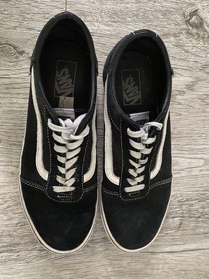 Men's Black Vans Size 9.5 for Sale in Lenexa, KS