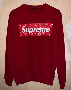 Louis Vuitton Supreme Sweatshirt Sweater Size Large New with tags for Sale in Littleton, CO