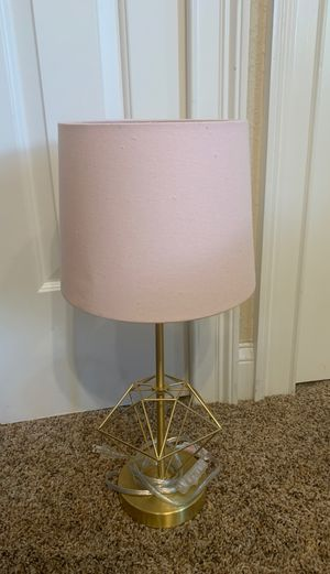Gold Pink Desk Lamp for Sale in Ormond Beach, FL