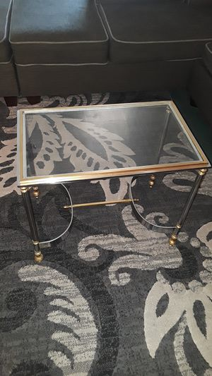 Antique glass table for Sale in Fresno, CA