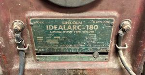 Lincoln Idealarc-180 Welder!! for Sale in Marion, MI